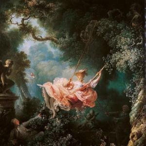 El columpio. J. H. Fragonard