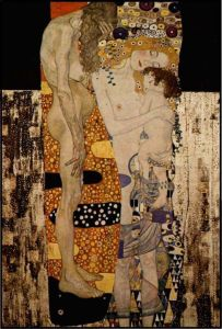 Las tres edades de la mujer. G. Klimt