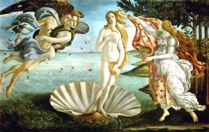 El nacimiento de Venus. Botticelli