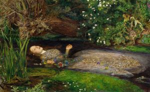 Ofelia. John Everett Millais (1829- 1896)