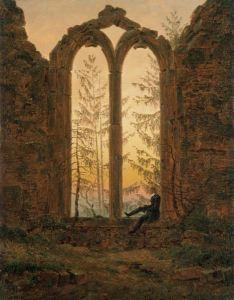 Ruinas del monasterio de Oybin- C. D. Friedrich