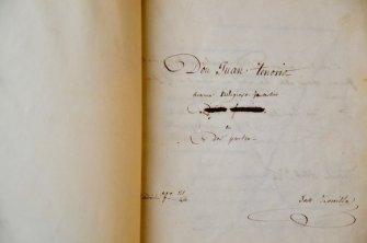 "Manuscrito de ""D. Juan Tenorio"""