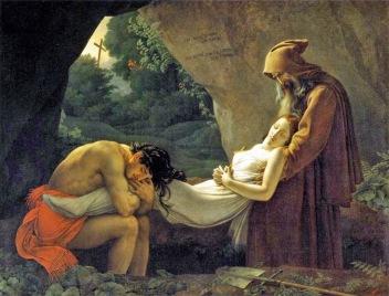 Muerte de Atala. Anne louis Girodet (1767-1824)