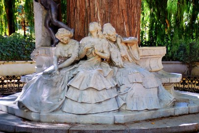 Glorieta de Bécquer. Párque de Mª Luisa (Sevilla)