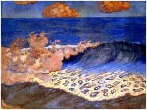 Marina azul- G. Lacombe