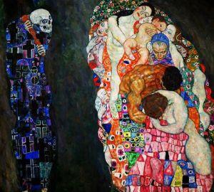 vida y muerte- E. Klimt