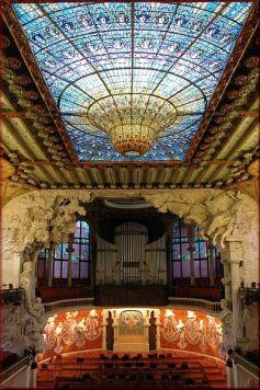 Palau de la música (Barcelona). Domenech i Montaner