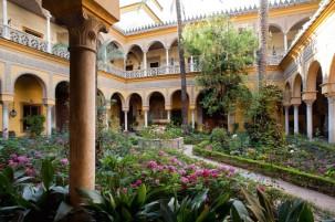 Patio- Palacio de las Dueñas (Sevilla)