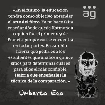 Umberto Eco y la educación