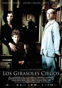 """Cartel de la película """"Los girasoles ciegos"""" dirigida por José Luis Cuerda"""