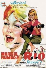 """Cartel película """"Marisol rumbo a Río"""" (1963)"""