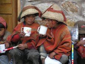 Chocolatada en el Altiplano de Perú (2008)