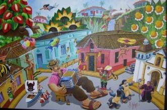 """""""Cien años de soledad"""" versión pictórica del pintor colombiano Fernando Botero"""